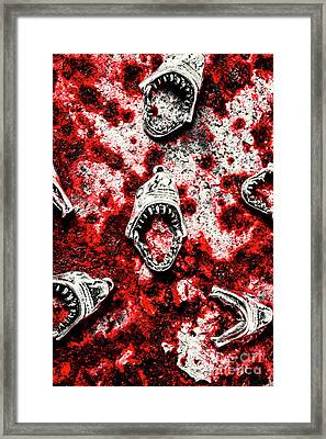 When Sharks Attack  Framed Print by Jorgo Photography - Wall Art Gallery