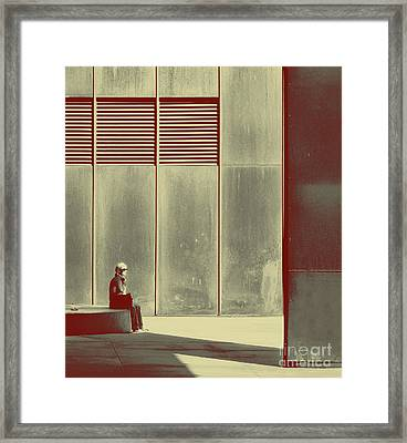 When Shes Gone Framed Print