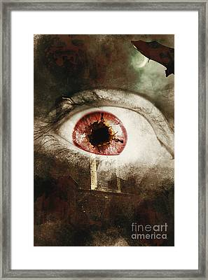 When Souls Escape Framed Print
