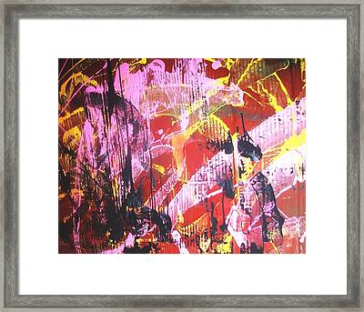 When The Cats Go Marching In Framed Print by Bruce Combs - REACH BEYOND