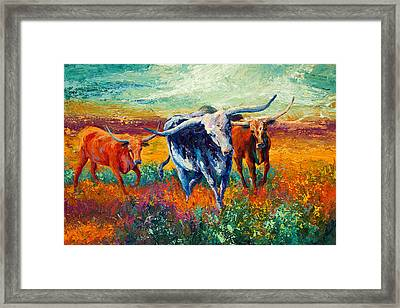 When The Cows Come Home Framed Print by Marion Rose