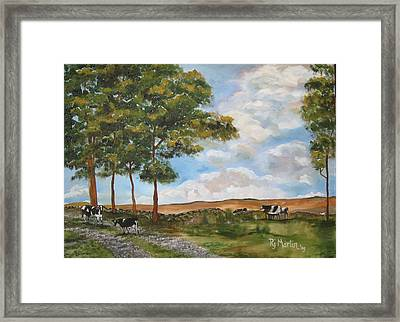 When The Cows Come Home Framed Print