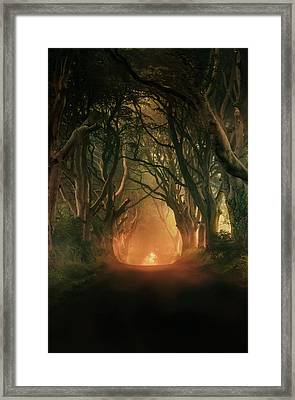 When The Day Begins... Framed Print