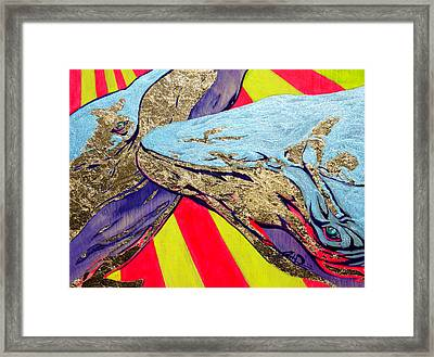When The Deep Sings Framed Print by Joseph Demaree
