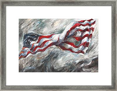 When The Dust Settles Framed Print by Francine Stuart