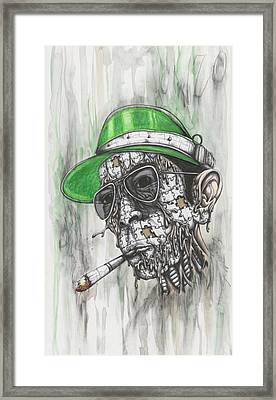 When The Going Gets Weird, The Weird Go Pro Framed Print by Tai Taeoalii