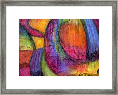 When The Heavens Open Framed Print by Cassandra Donnelly