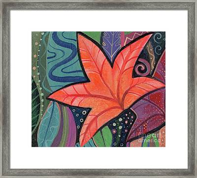 When The Leaves Turn Framed Print by Helena Tiainen