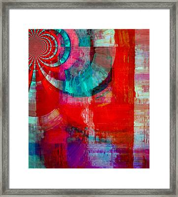 When The Praise Goes Up Framed Print by Fania Simon