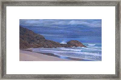 When The Rain Came Framed Print by Jan Lawnikanis