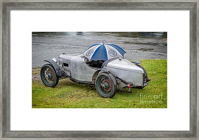 When The Rain Comes Framed Print by Adrian Evans