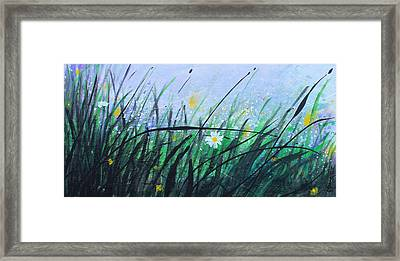 When The Rain Is Gone Framed Print