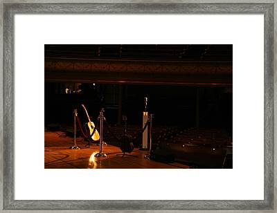 When The Ryman Sleeps Framed Print