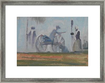 When The Smoke Clears Framed Print by Len Stomski