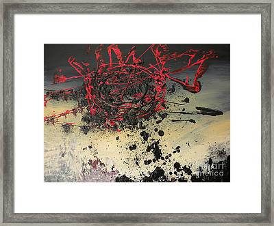 When The Sun Finally Explodes Framed Print