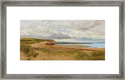 When The Tide Is Low  Maer Rocks, Exmouth, Framed Print by James Bruce Birkmyer