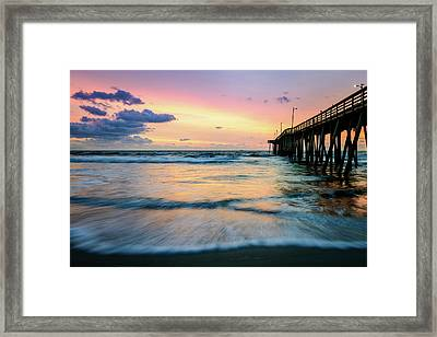 When The Tides Return Framed Print
