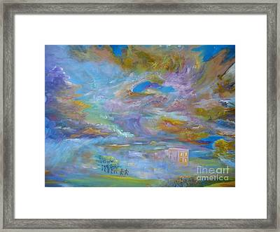 When The Winds Of Changes Shift Framed Print
