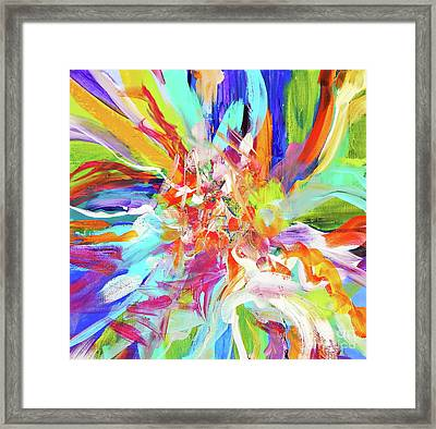 When They Dance ... Framed Print by Expressionistart studio Priscilla Batzell