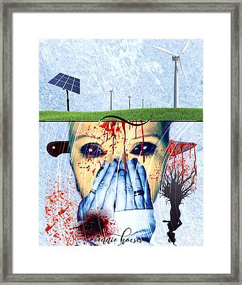 When They Take The Mind Framed Print