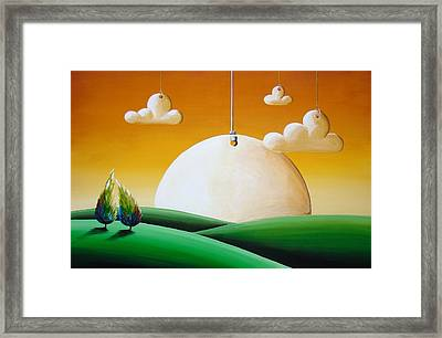 When Time Stands Still Framed Print by Cindy Thornton
