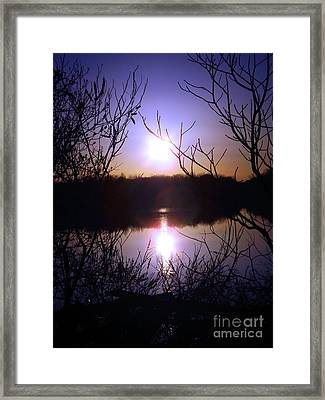 When Tomorrow Comes Framed Print by Robyn King