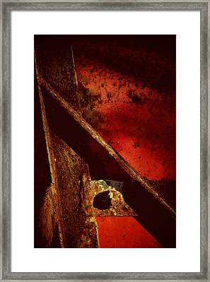 When We Come To It Framed Print by Odd Jeppesen