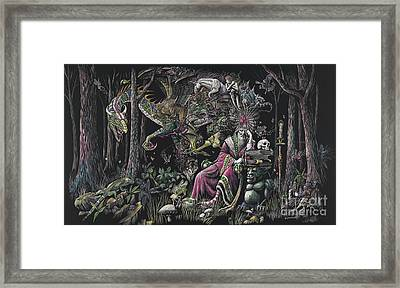 When Wizards Dream Framed Print by Stanley Morrison