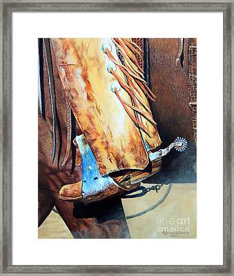 A Great Combination Framed Print