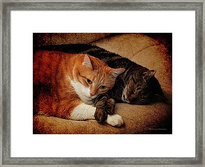 When You Are Weary And Feeling Small Framed Print by Michael Taggart II