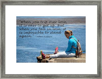 When You Fall In Lover 2 Framed Print