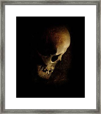When Your Nightmare Comes Framed Print by Jaroslaw Blaminsky