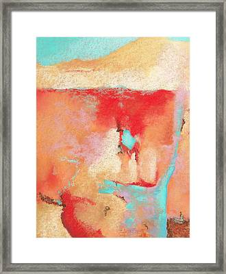 Framed Print featuring the painting Where Am I 1 by M Diane Bonaparte