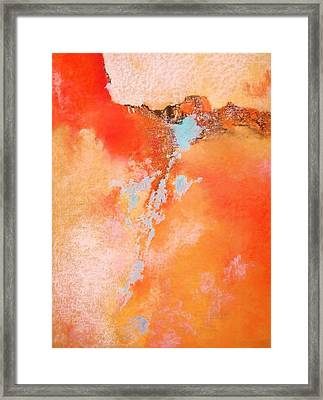 Where Am I 3 Framed Print by M Diane Bonaparte