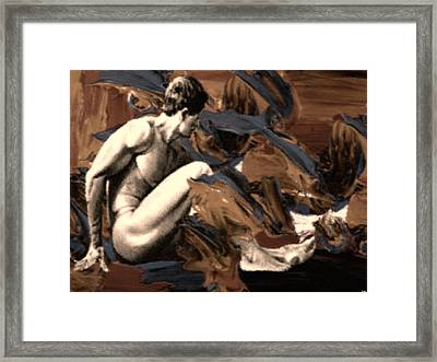 Where Am I Framed Print by Andrea N Hernandez