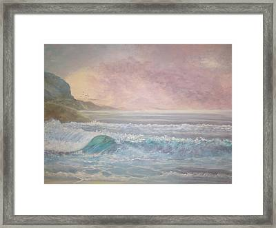 Where Angels Tread Framed Print