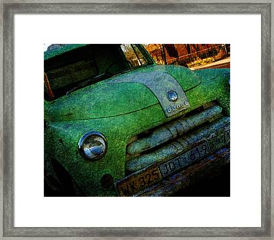 Where Are The Good Old Days Gone Framed Print by Susanne Van Hulst