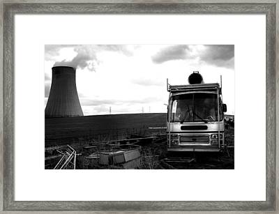 Framed Print featuring the photograph Where Are The Humans by Jez C Self