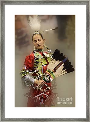 Pow Wow Where Are You Now Framed Print by Bob Christopher