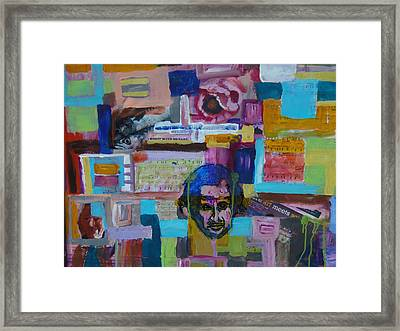 Where Art Meets Science Framed Print by Max Bowermeister