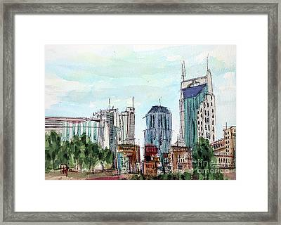 Where Boots Hit The Ground Framed Print by Tim Ross