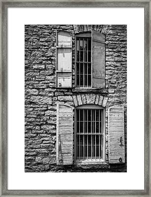 Where Bourbon Ages Framed Print by Alexey Stiop