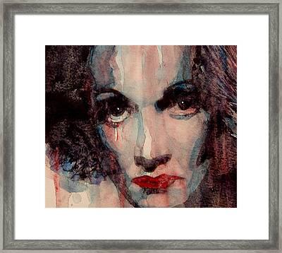 Where Do You Go My Lovely Framed Print by Paul Lovering