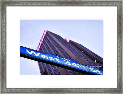 Where Dreams Are Made Framed Print