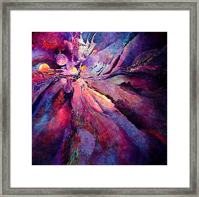 Where Dreams Meet Framed Print
