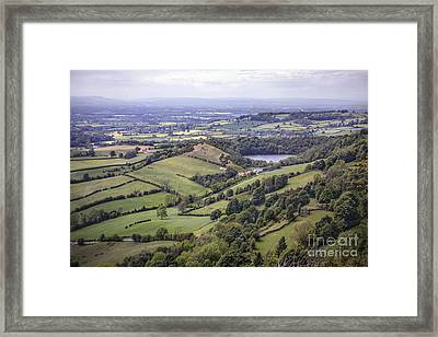 Where Fields Never End Framed Print