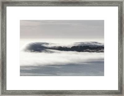 Where Goes Bolinas? Framed Print