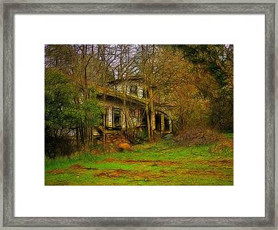 Where Have All The Flowers Gone Framed Print by Tim Coleman