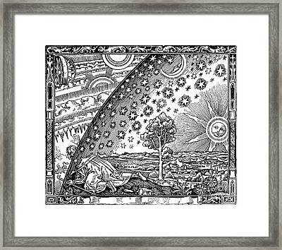 Where Heaven And Earth Meet 1888 Framed Print by Science Source