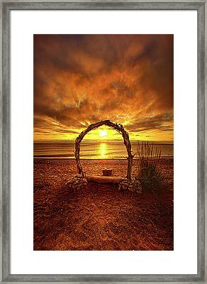 Where Hope And Love Will Be Forever Framed Print